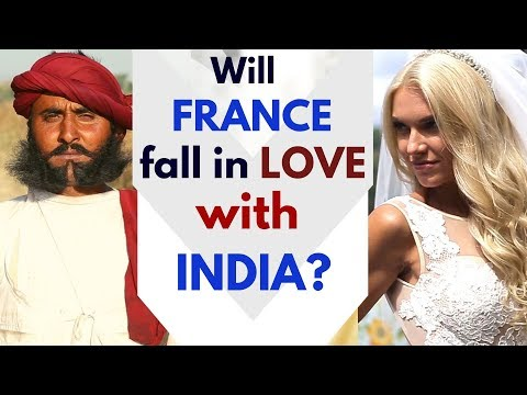 Will France fall in love with India? | A beautiful Film on India (in French) | Karolina Goswami