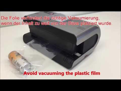 Clear vacuum bag mode / Tips