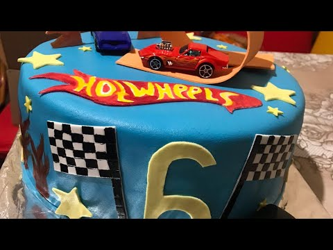 Как собрать и оформить торт на 6 лет