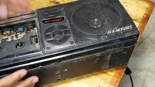 كيف تصنع مكبر صوت للهاتف الجوال (الموبايل ) من راديو قديم فى 5 دقائق