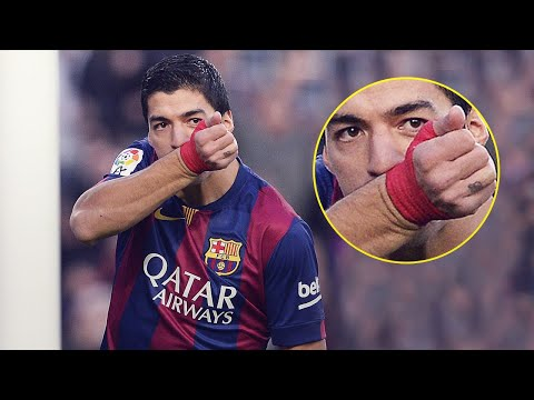 The reason why Suarez kisses his wristband when he scores | Oh My Goal
