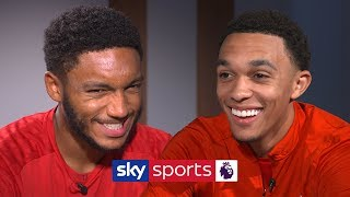 How many Premier League teams can Trent name in 30 seconds? | Lies | Alexander Arnold & Gomez