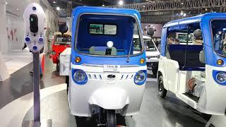 Mahindra Electric Treo Zor Electric Cargo Vehicle | Auto Expo 2020 | Make in India