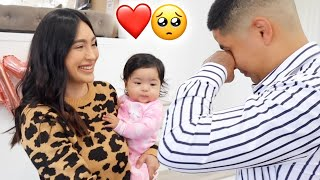 VALENTIN'S FIRST FATHERS DAY! (HE CRIED)