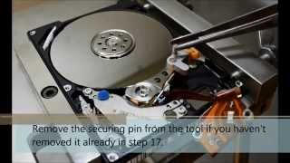 Hitachi HDD Head replacement process - HddSurgery