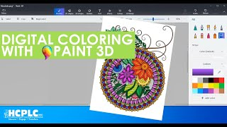 Learn at Home: Digital Coloring with Paint 3D