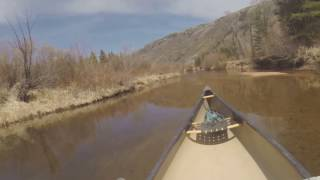 1st canoe of the season on our flat water paddle through the nature preserve. Ahhhhh.