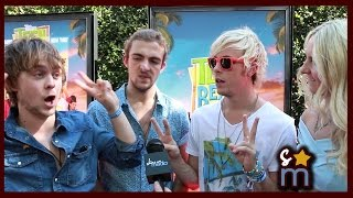 "R5 Tease ""All Night"" Music Video, Album & Best Ross Impressions - Teen Beach 2 Premiere"