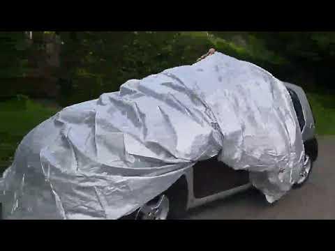 logei® Wasserdicht Autoabdeckung Auto Ganzgarage Autogarage Abdeckung Abdeckplane Autoplane speziell