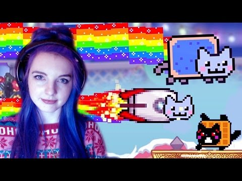 Nyan Cat: Lost in Space | Kawaii Addictive Game!!