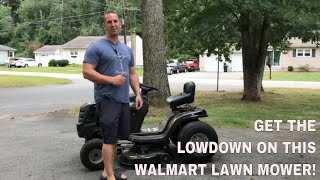 """Murray 38"""" Riding Lawn Mower Product Review - M115-38"""