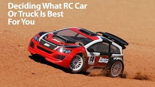 Deciding What RC Car or Truck is Best For You with Horizon Hobby
