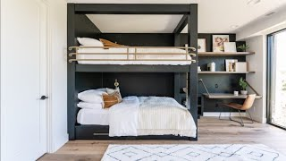 100 Cool Ideas! BUNK BEDS/Bunk Bed Idea For Modern Bedroom - Room Ideas