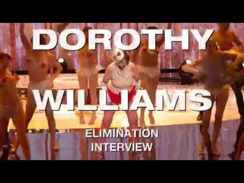 AGT Quarterfinals 2016 Week 1: Dorothy Williams Elimination Interview (видео)