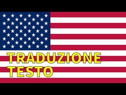 Inno STATI UNITI AMERICA  TRADUZIONE + TESTO Italiano - The Star Spangled Banner