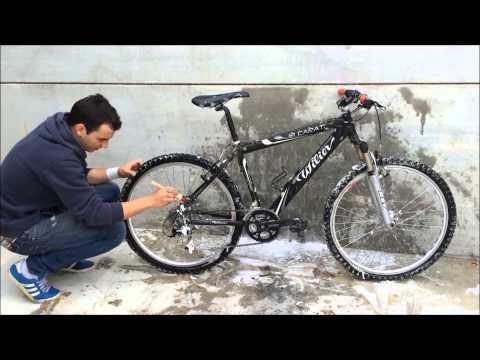 Lavado y cuidado de bicicleta