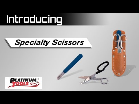 Platinum Tools' Scissor Family