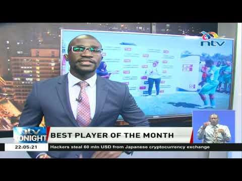 Enock Agwanda named Sjak player of the month of August