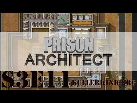 Prison Architect [HD] #038 – Ein trauriger Tag ★ Let's Play Prison Architect