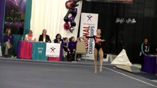 preview picture of video '2014 Region 7 Gymnastics Championships -- Emma Marchese Level 10 Floor Exercise'