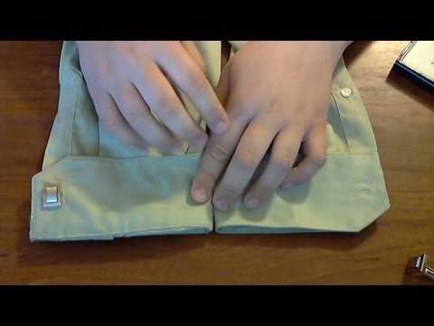 Πως βάζουμε μανικετόκουμπα και πως τροποποιούμε ένα πουκάμισο ώστε να μπορέσουμε να βάλουμε μανικετόκουμπα