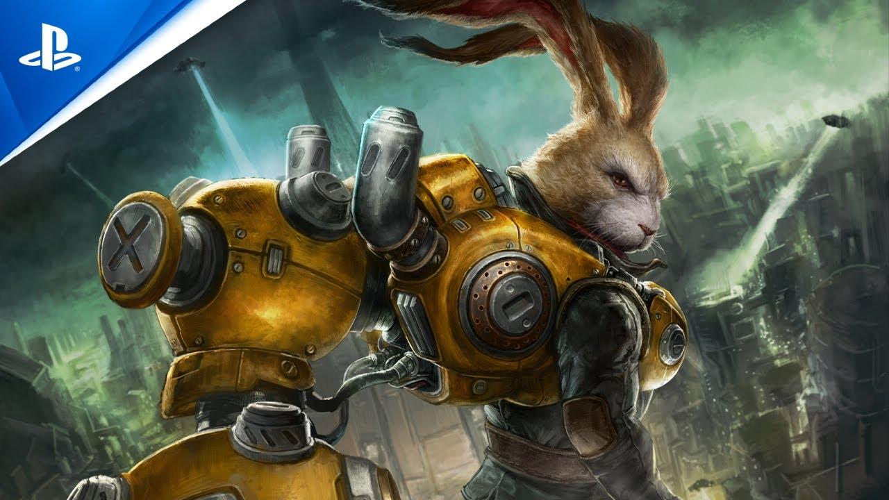 Incarnez un lapin aguerri armé d'un énorme poing en métal dans le jeu d'action et de plateforme F.I.S.T.: Forged in Shadow Torch