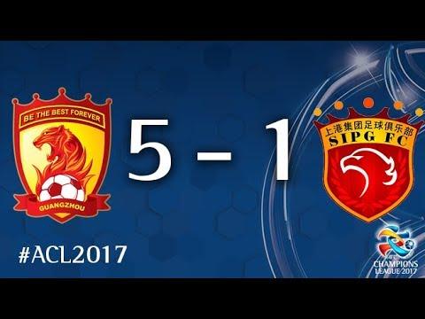 Guangzhou Evergrande vs Shanghai SIPG (AFC Champions League 2017: Quarter Final - 2nd Leg)