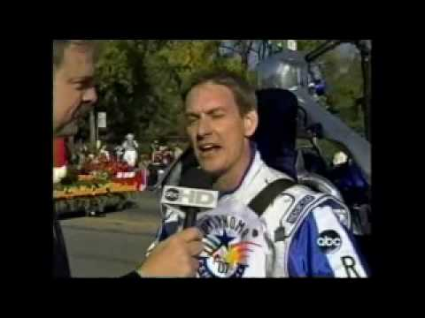 Rocketman's Jet Pack Interview with John Naber at the Rose Parade