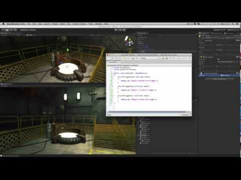 Colliders as Triggers - Unity