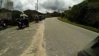 preview picture of video 'KTS Riders | Ride to Cameron Highlands | GoPro Hero3 Black Edition'