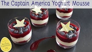 The Captain America Yoghurt Mousse - Recetas Explosivas