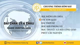 CHƯƠNG TRÌNH PHÁT THANH, THỨ HAI 23092019