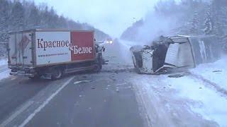 Подборка жестких аварий вторая неделя Января (Channel Жёсткие аварии)