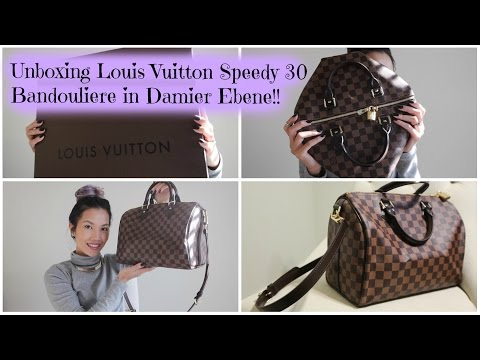 a6c42116eb08 Unboxing Louis Vuitton Speedy 30 Bandouliere - Damier Ebene - Action.News  ABC Action News Santa Barbara Calgary WestNet-HD Weather Traffic