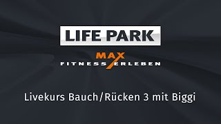 Bauch/Rücken 3 mit Biggi (Livemitschnitt vom 16. April 2020)