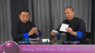 Hmong State Media/News Interview Bua Yang