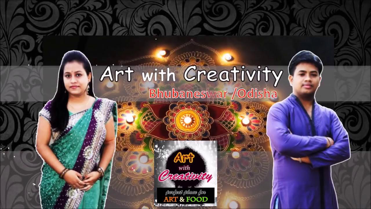 kundan rangoli design by art with creativity
