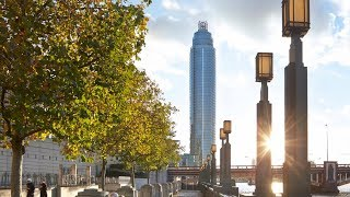 The Tower, One St George Wharf. London UK. View time lapse of construction produced by Site Eye.