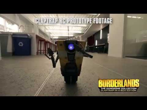 Win! A Life-Sized Borderlands Claptrap Worth $7,500