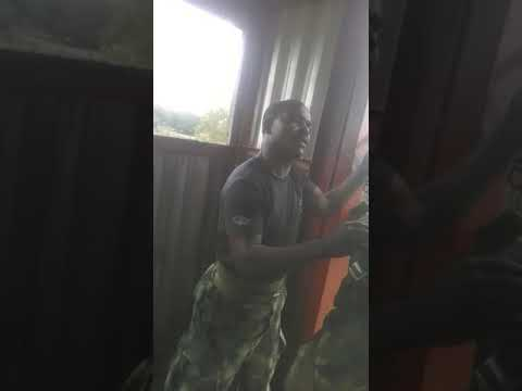 Nigerian Army Parashooter Training
