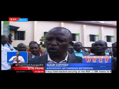 Coffee farmers from Nandi County up in arms over harassment by the Commodity Development Fund