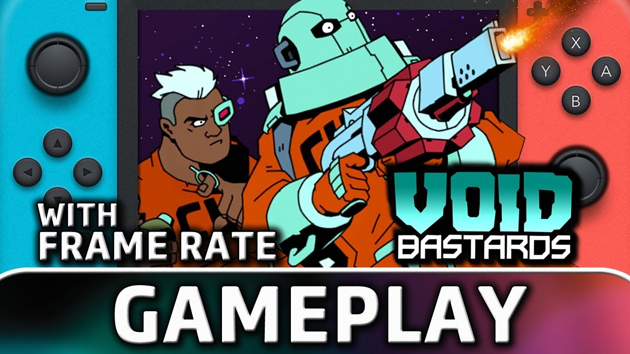 Void Bastards | Nintendo Switch Gameplay and Frame Rate