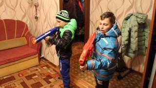 Нёрф Битва на Русском;Ограбление 2:NERF  Robbery 2