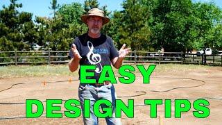 Easy Garden Design -  Layout