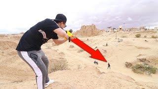 اخر واحد ينقفط له 5000 ريال | تحدي الاختباء في صحراء