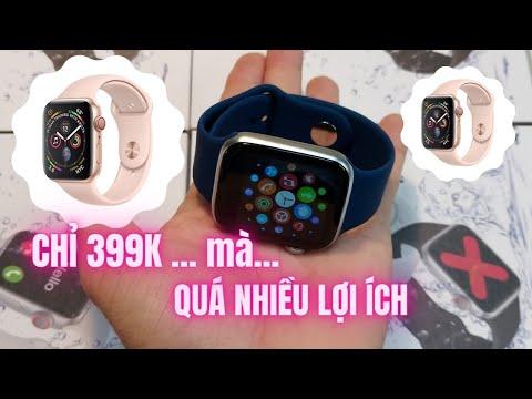 Test thử các tính năng của đồng hồ Apple Watch giá 399k l Hoàng Văn Quang
