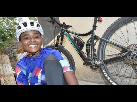 I ride my bike to demystify gender stereotypes