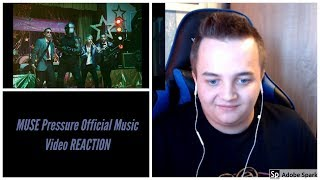 MUSE   Pressure Official Music Video REACTION
