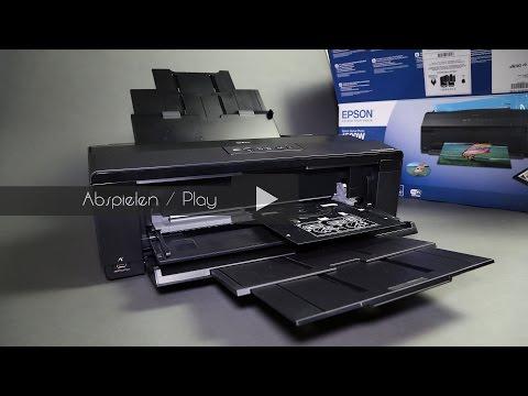 Epson 1500W Drucker Unboxing (Deutsch)