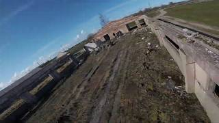 FPV Drone Freestyle (Latvia) ... A very cold and windy day